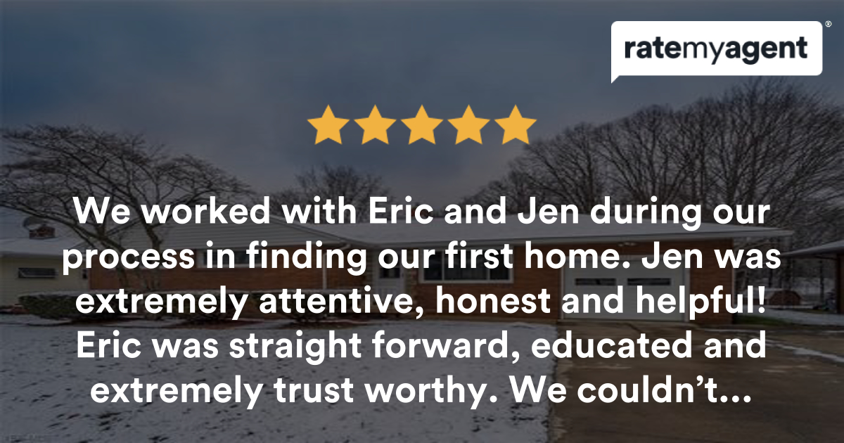 Outstanding Experience - Eric Cooper agent review | RateMyAgent
